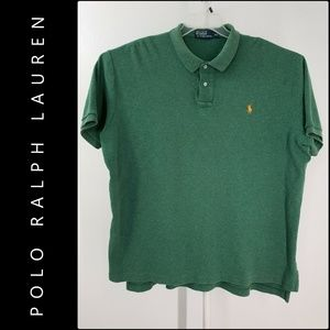 Polo Ralph Lauren Men Short Sleeve Polo Shirt 2XL
